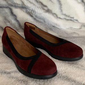 Clarks Artisan Daelyn Hill Wedge Heel Shoes